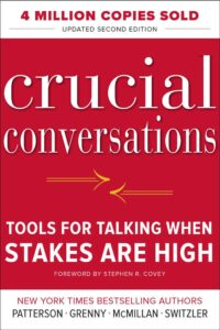 a book to help manage difficult conversations