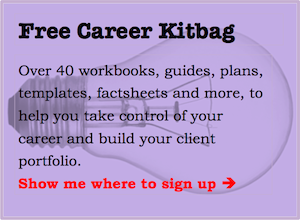 Free Career Kitbag home page