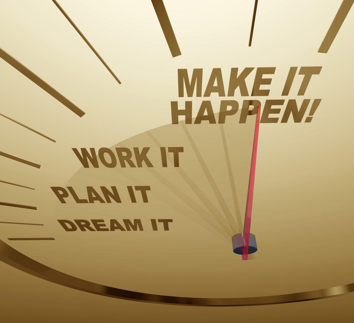 What to do to make a dream come true: tips 41