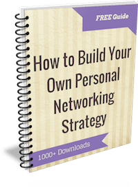 guide to building personal networking strategy 200px