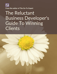 the reluctant business developer's guide to winning clients front cover thumbnail 200px