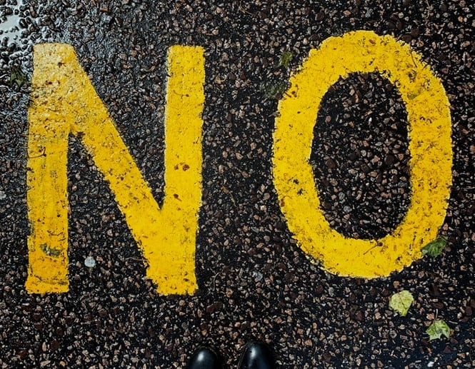 how to say no to client requests