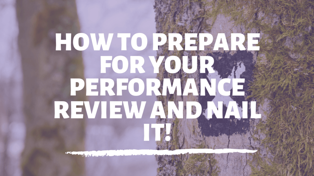 prepare for your performance review