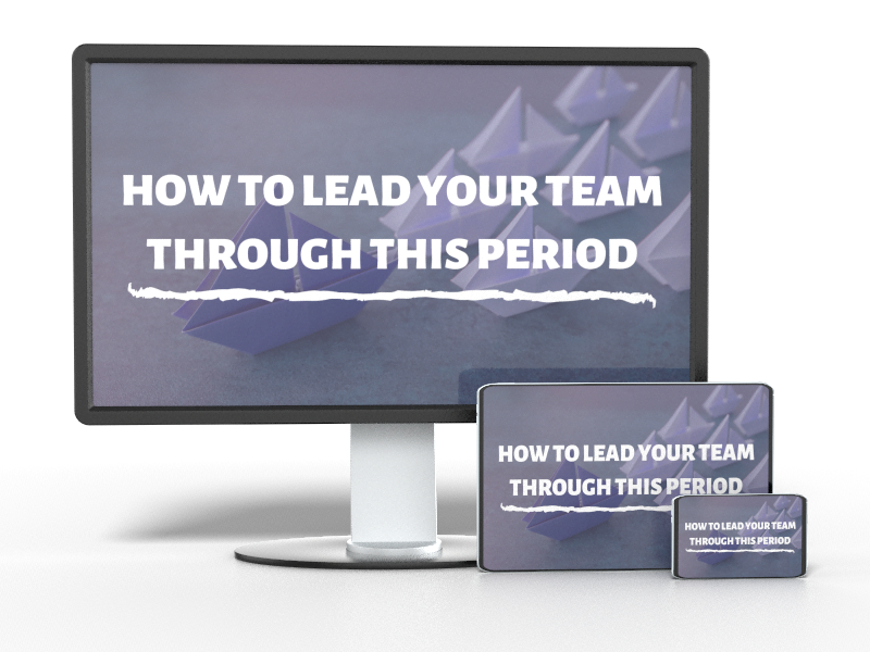 lead your team mockup