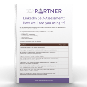 linkedin self assessment mockup