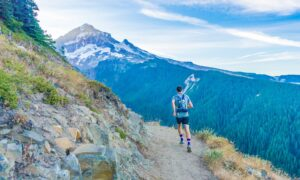 a marathon runner to represent how to progress your career