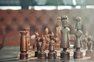chess pieces to symbolise doing your due diligence on a firm