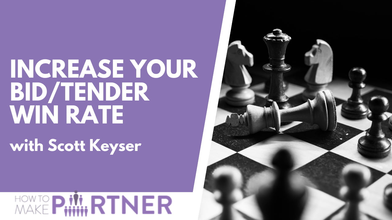 How to increase your bid/tender win rate