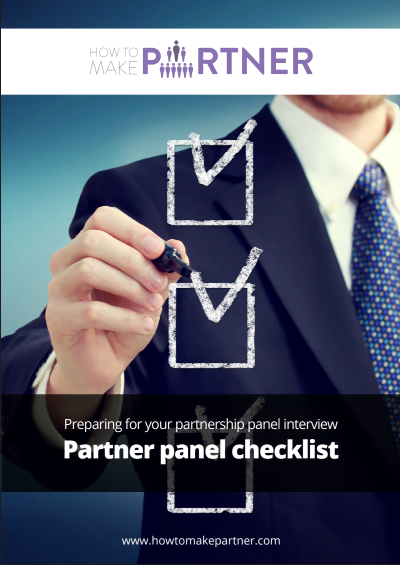 Partner Panel Checklist
